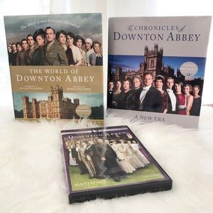 Downton Abbey DVD & Book Bundle